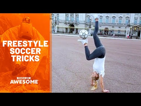 Best Footballers & Freestyle Soccer Tricks | People Are Awesome