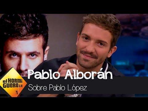 Pablo Alborán sobre Pablo López: