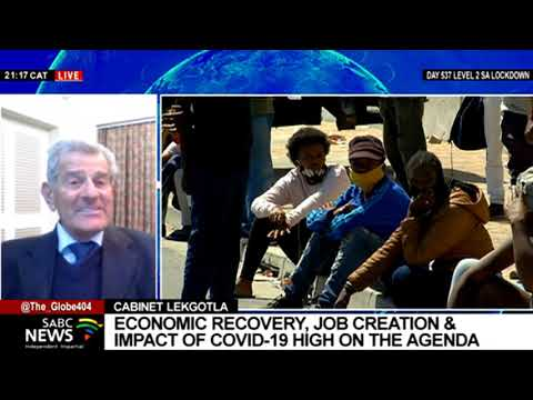 Previewing Cabinet Lekgotla meeting with Dr. Azar Jammine