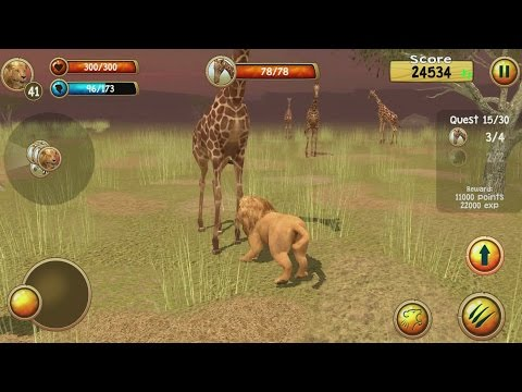 hqdefault Wild Lion Simulator 3D Android Gameplay #6 Technology