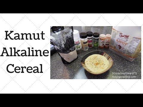 Easy Kamut Cereal Dr.Sebi Alkaline Electric Food