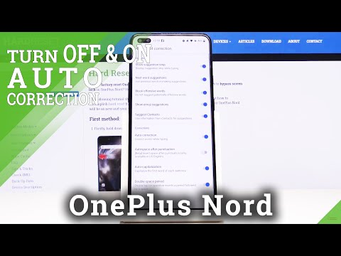 How to Enable Auto-Correction in OnePlus Nord – Keyboard Settings