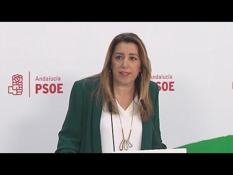 Susana Díaz liderará la oposición en una etapa de
