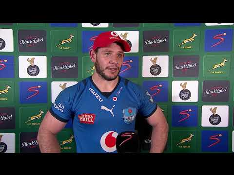 Currie Cup Premier Division | Sharks v Bulls | Interview with Marcel Coetzee