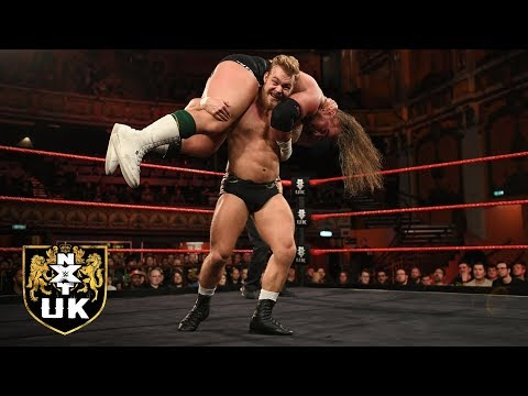 British Strong Style vs. Gallus - Six-Man Tag Team Match: NXT UK, Jan. 9, 2019