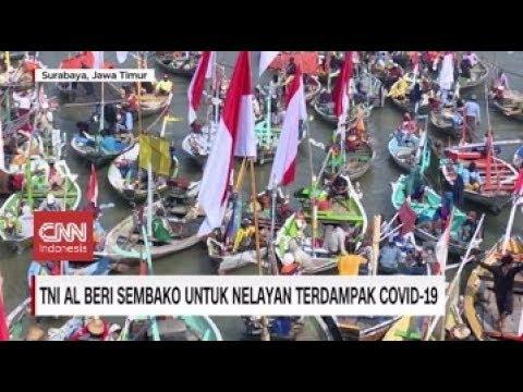 TNI AL Beri Sembako untuk Nelayan Terdampak Covid-19