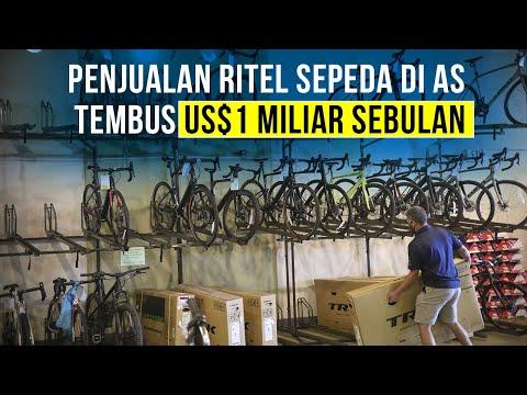 Tak Hanya di Indonesia, Tren Sepeda juga Terjadi di Amerika Serikat