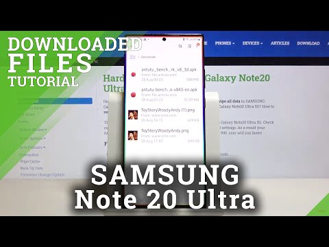 How to Locate Download File in SAMSUNG Galaxy Note 20 Ultra – Find Downloaded Media