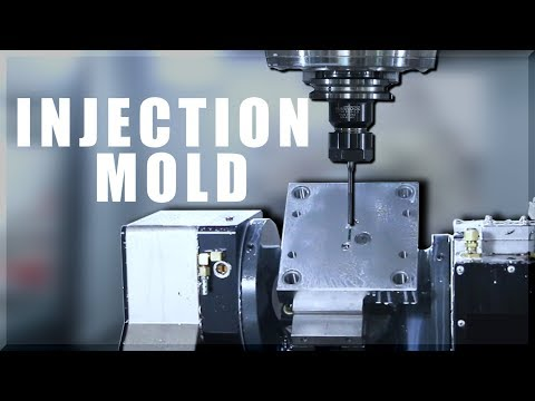 Machining an INJECTION MOLD!