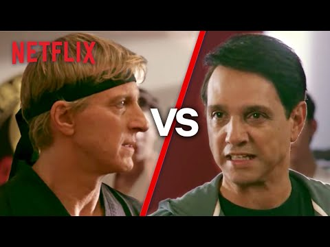 Daniel Vs. Johnny Debate: Who's The REAL Bad Guy? | Cobra Kai | Netflix