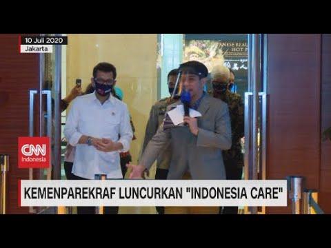 Kemenparekraf Luncurkan 'Indonesia Care'