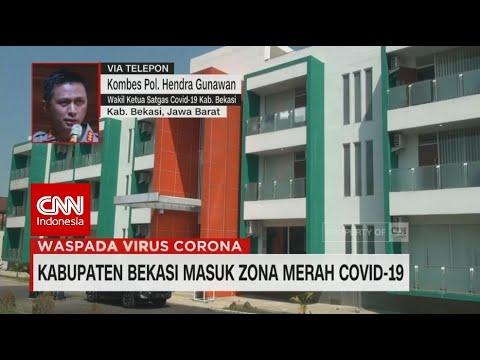 Kabupaten Bekasi Masuk Zona Merah Covid-19