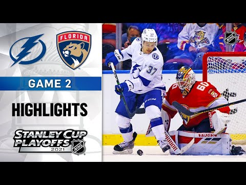 First Round, Gm2: TBL@FLA 5/18/21 | NHL Highlights