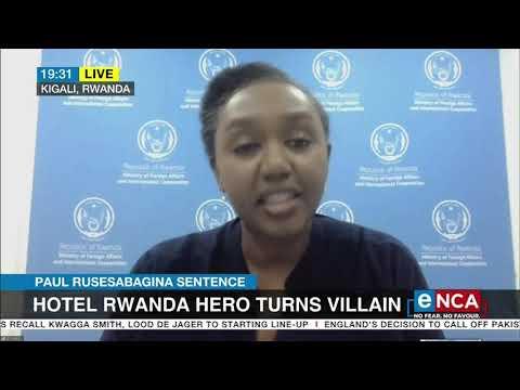 Paul Rusesabagina sentenced 25 years for terrorism