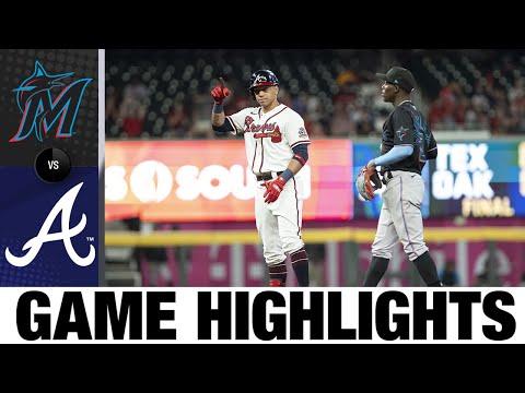 Marlins vs. Braves Game Highlights (9/12/21) | MLB Highlights