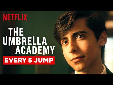 Every Time Five Jumps | Umbrella Academy | Netflix