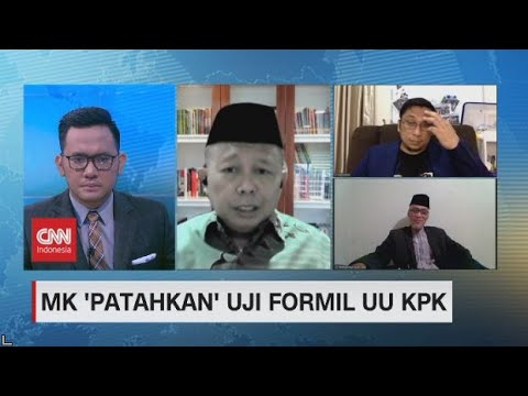 Revisi UU KPK Ditolak, Eks KPK: Harapan Masyarakat Pupus Untuk Penegakan Hukum