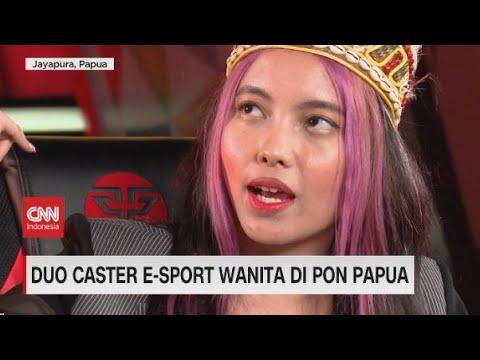 Duo Caster Wanita di PON Papua