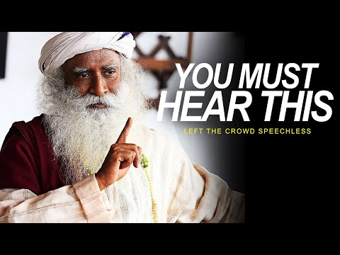 His Answer Leaves the Audience SPEECHLESS | One of the Best Speeches Ever - Sadhguru