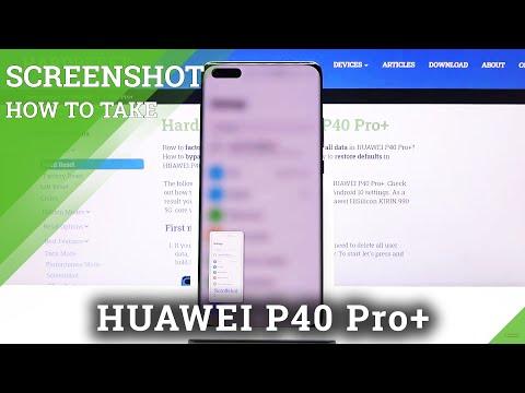 How to Take a Screenshot in Huawei P40 Pro+ | Capture Fleeting Content