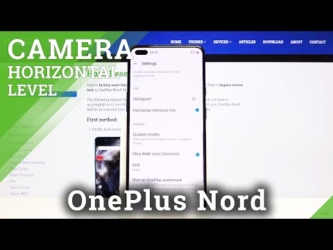 How to Turn On / Off Camera Leveler on OnePlus Nord – Camera Options