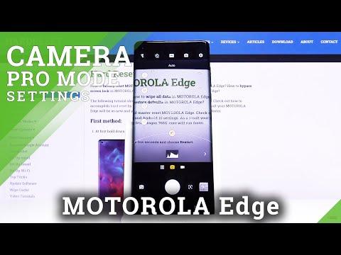 How to Use Camera Pro Mode in Motorola Edge - Camera Tips