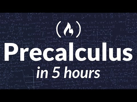 Precalculus Course