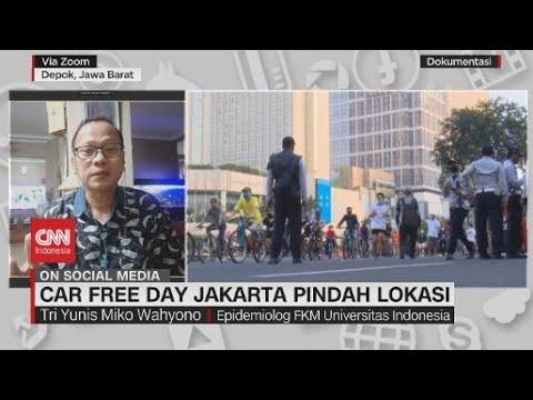 Car Free Day Jakarta Pindah Lokasi