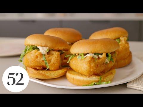Crispiest Beer-Battered Fish Sandwich | Food52 + ABO