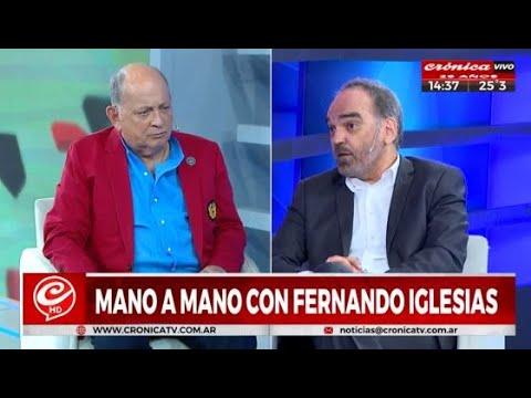 Mano a mano con Fernando Iglesias