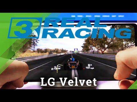 Real Racing 3 on LG Velvet – Gameplay