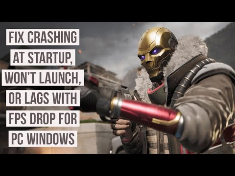 How to Fix Roque Company Crashing at startup, Won't launch, or lags with FPS drops