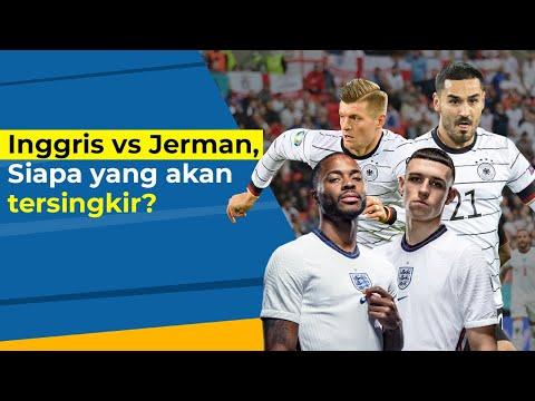 Inggris vs Jerman, Siapa yang akan tersingkir?
