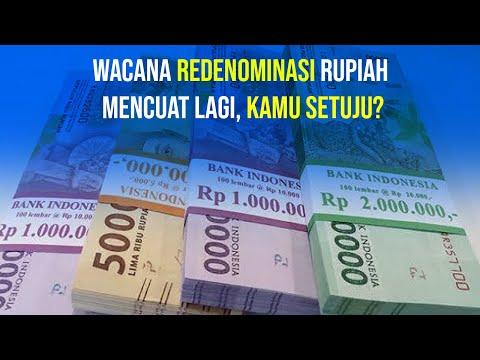 Redenominasi Rupiah, Yes or No?
