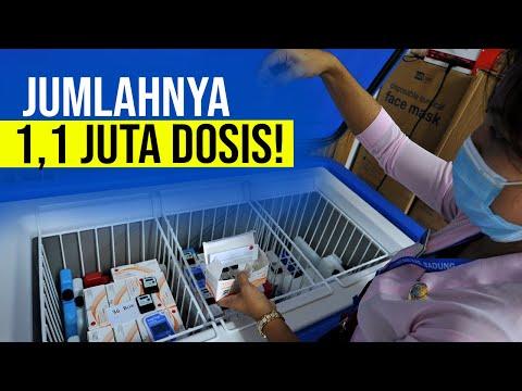 Mantap! Indonesia Kedatangan Vaksin Dari Covax