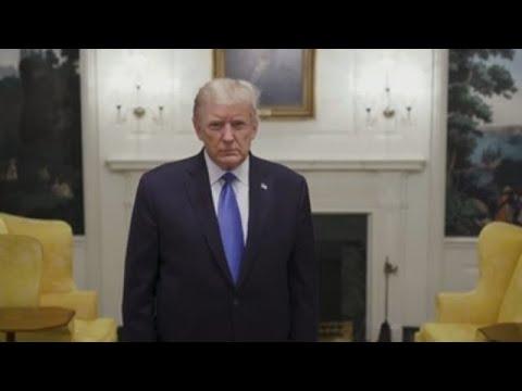 """Trasladan a Trump por unos días al hospital militar Walter Reed como """"precaución"""""""