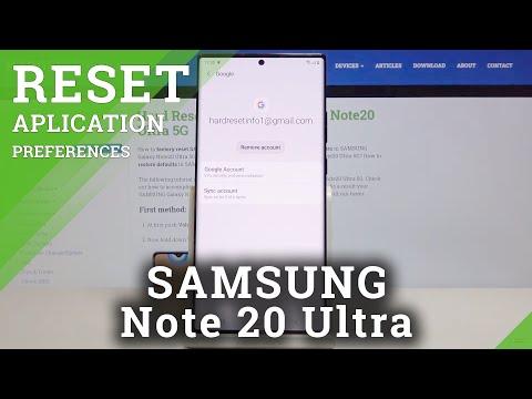 How to Remove Google Account in SAMSUNG Galaxy Note 20 Ultra – Add & Delete Google User
