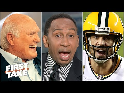 Terry Bradshaw called Aaron Rodgers 'weak.' Stephen A. and Max react   First Take
