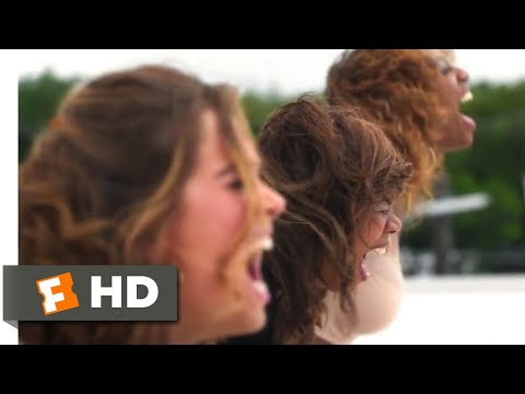 Support the Girls (2018) - Screaming on the Roof Scene (8/8) | Movieclips