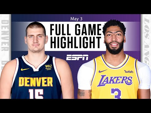 Denver Nuggets at Los Angeles Lakers | Full Game Highlights