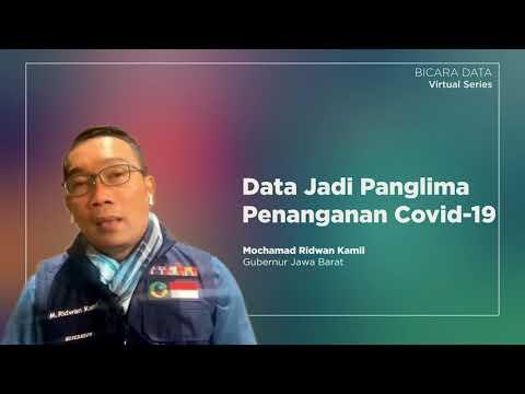 Ridwan Kamil: Data Jadi Panglima Penanganan Covid-19