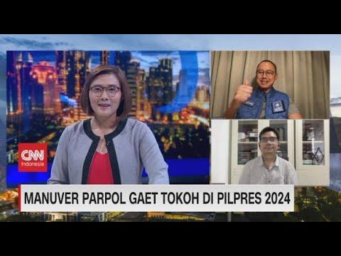 Manuver Parpol Gaet Tokoh di Pilpres 2024