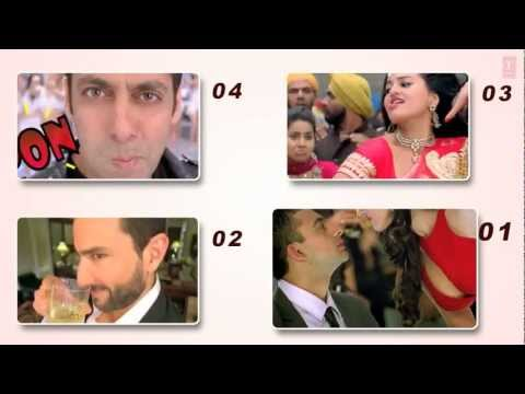 Video: Bollywood TOP 20 - 2012 - Most Viewed Songs