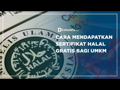 Cara Mendapatkan Sertifikat Halal Gratis Bagi UMKM   Katadata Indonesia