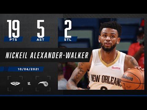 Nickeil Alexander-Walker drops 19 PTS in Pelicans' win vs. Magic
