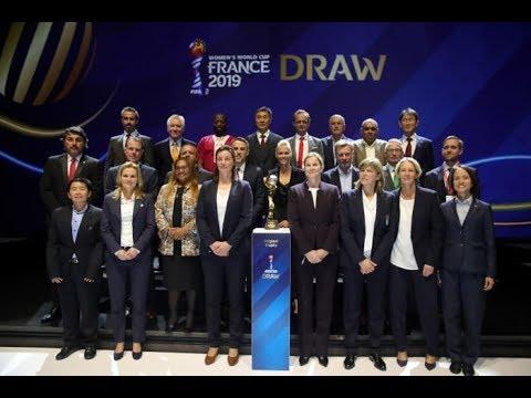 HIGHLIGHTS - WOMEN'S WORLD CUP DRAW