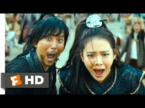 The Pirates (2014) - Water Slide Chase Scene (4/10) | Movieclips