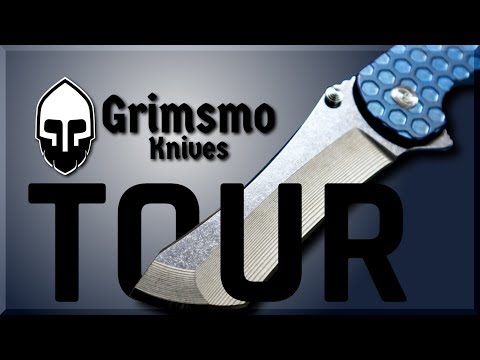 Grimsmo Knives: SHOP TOUR!