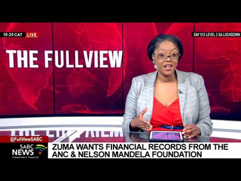 Reaction to Zuma's request of ANC financial records: Paul Holden