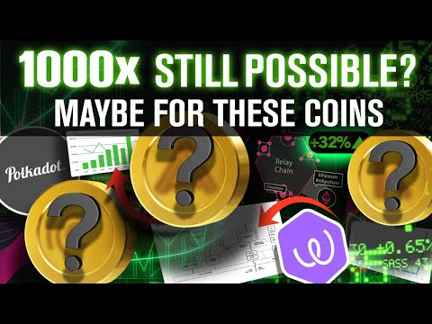 1000x Moonshot Altcoins! Still Possible? Maybe For These Coins!